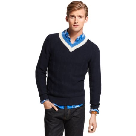 Image for CRICKET V NECK SWEATER from Tommy Hilfiger USA