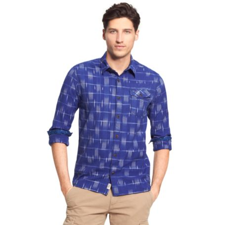 Image for PRINTED PATTERN SHIRT from Tommy Hilfiger USA
