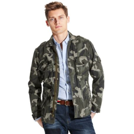 Image for CAMO FIELD JACKET from Tommy Hilfiger USA