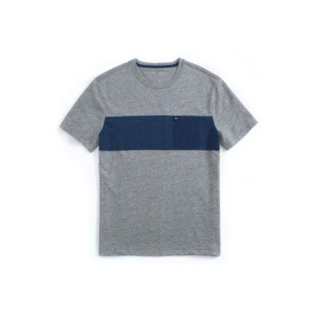 Image for SLUB STRIPE POCKET TEE from Tommy Hilfiger USA
