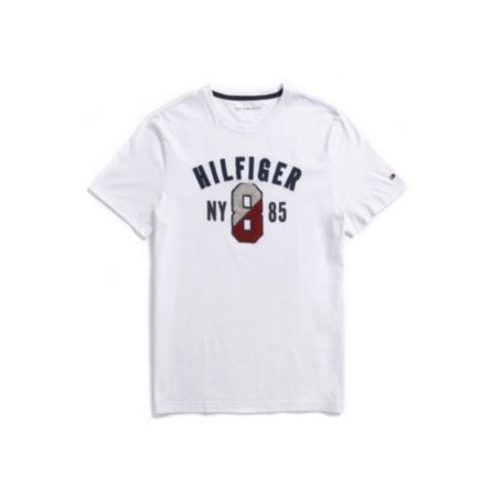 Image for HILFIGER 8 GRAPHIC TEE from Tommy Hilfiger USA