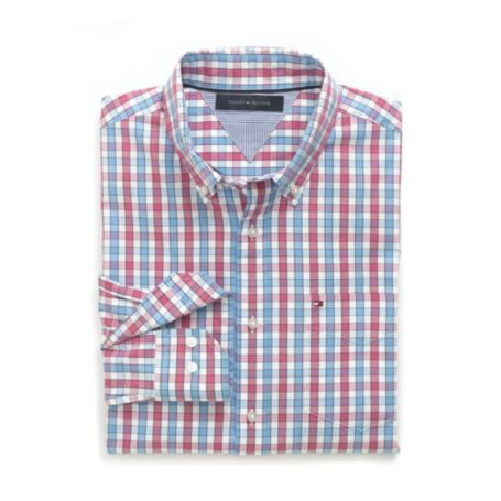 Image for CUSTOM FIT 80'S PLAID SHIRT from Tommy Hilfiger USA