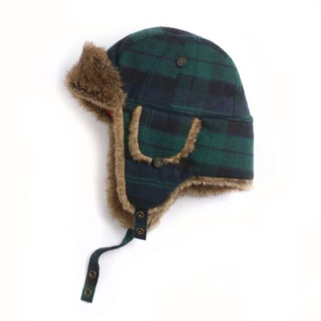 Image for BLACKWATCH TRAPPER HAT from Tommy Hilfiger USA