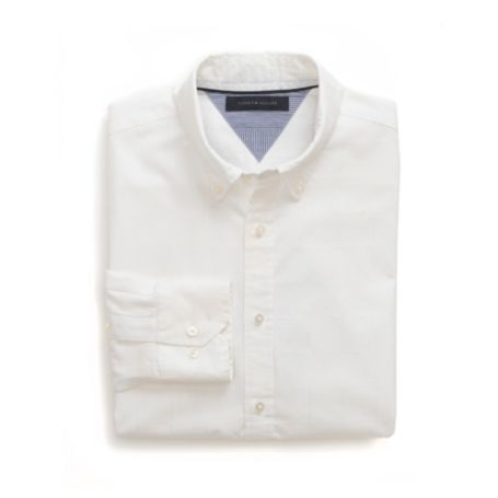 Image for CUSTOM FIT 80'S TONAL SHIRT from Tommy Hilfiger USA