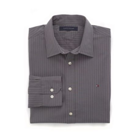 Image for CUSTOM FIT STRETCH STRIPE SHIRT from Tommy Hilfiger USA