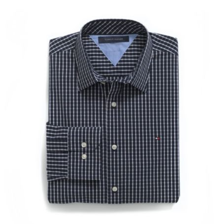 Image for CUSTOM FIT STRETCH CHECK SHIRT from Tommy Hilfiger USA