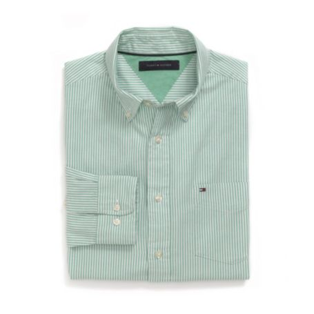 Image for CLASSIC FIT OXFORD STRIPE SHIRT from Tommy Hilfiger USA