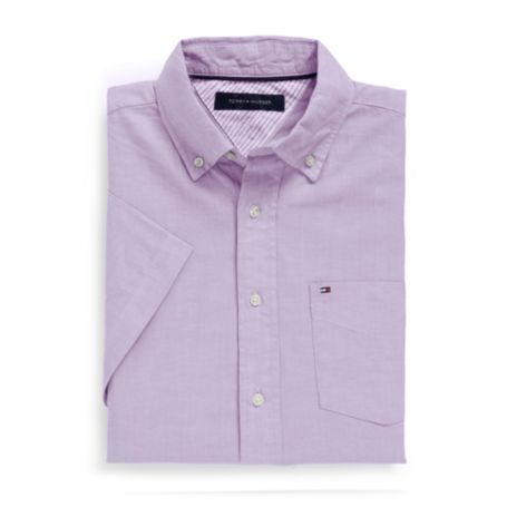 Image for CLASSIC FIT OXFORD SHORT SLEEVE SHIRT from Tommy Hilfiger USA