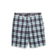 CUSTOM FIT PLAID SHORT $44.50