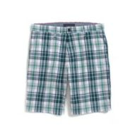 CUSTOM FIT PLAID SHORT $39.50