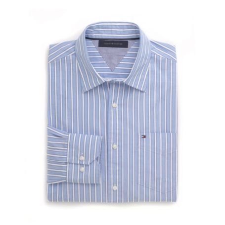 Image for CUSTOM FIT STRIPE SHIRT from Tommy Hilfiger USA