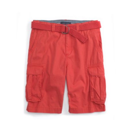 Image for BELTED CANVAS CARGO SHORT from Tommy Hilfiger USA