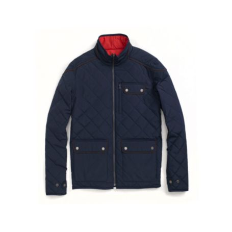 Image for REVERSIBLE LIGHT WEIGHT QUILTED JACKET from Tommy Hilfiger USA