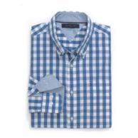 CUSTOM FIT GINGHAM SHIRT $54.50