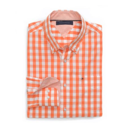 Image for CUSTOM FIT GINGHAM SHIRT from Tommy Hilfiger USA