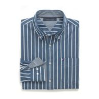 CUSTOM FIT STRIPE SHIRT $44.99