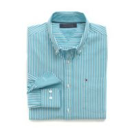 CUSTOM FIT STRIPE SHIRT $49.50