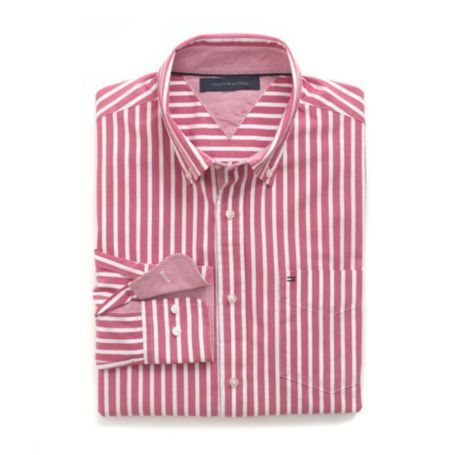 Image for CUSTOM FIT OXFORD STRIPE SHIRT from Tommy Hilfiger USA