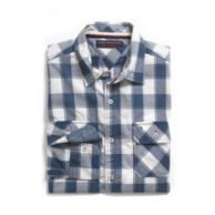 CUSTOM FIT ROLL TAB PLAID SHIRT $44.99