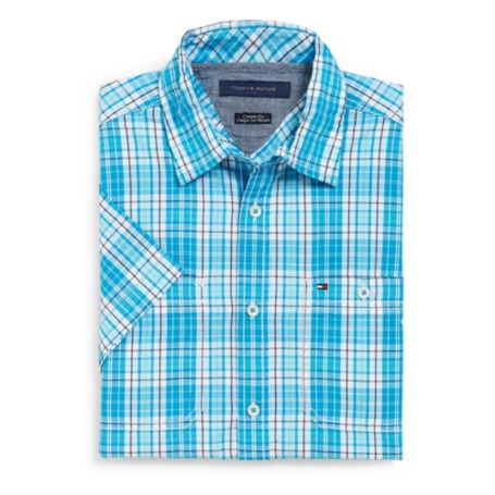 Image for CUSTOM FIT 2 POCKET PLAID SHIRT from Tommy Hilfiger USA