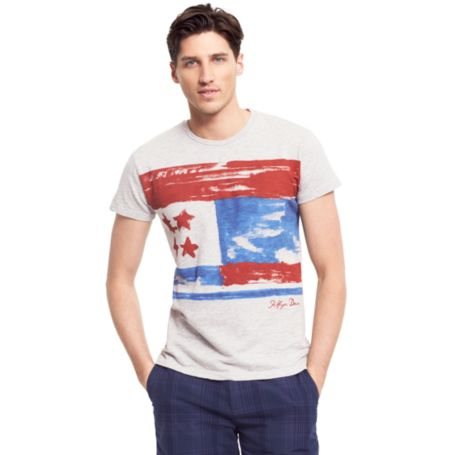 Image for FLAG HILFIGER DENIM TEE from Tommy Hilfiger USA