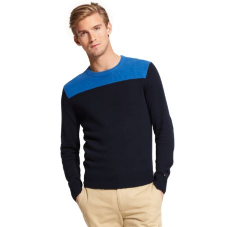 Image for COLOR BLOCK SWEATER from Tommy Hilfiger USA