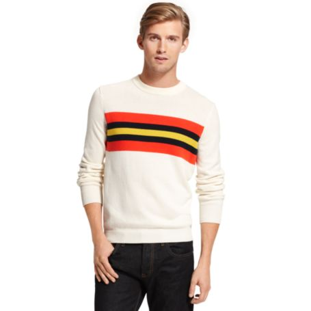 Image for CHEST STRIPE SWEATER from Tommy Hilfiger USA