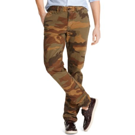Image for GARMENT DYE CAMO PANT from Tommy Hilfiger USA