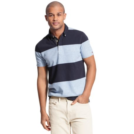 Image for BLOCK STRIPE POLO from Tommy Hilfiger USA