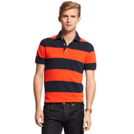 Image for RUGBY STRIPE POLO from Tommy Hilfiger USA