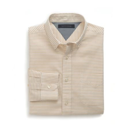 Image for CUSTOM FIT HORIZONTAL STRIPE SHIRT from Tommy Hilfiger USA