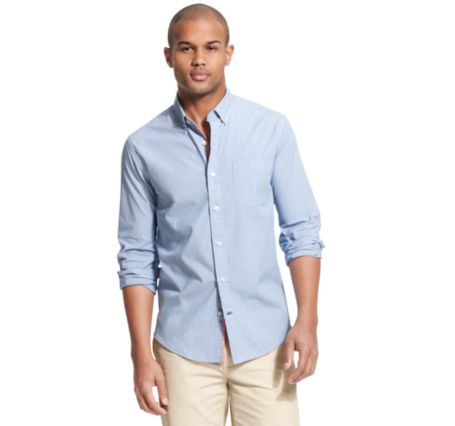 Image for CUSTOM FIT OXFORD SHIRT from Tommy Hilfiger USA