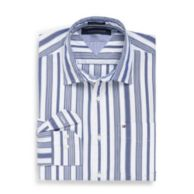 CUSTOM FIT 80'S STRIPE SHIRT $54.50