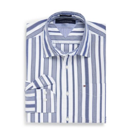 Image for CUSTOM FIT 80'S STRIPE SHIRT from Tommy Hilfiger USA
