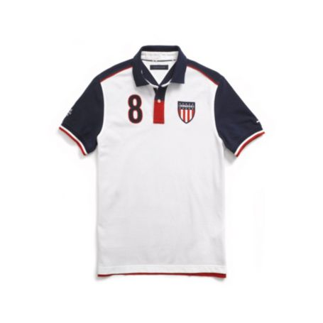 Image for CUSTOM FIT USA POLO from Tommy Hilfiger USA
