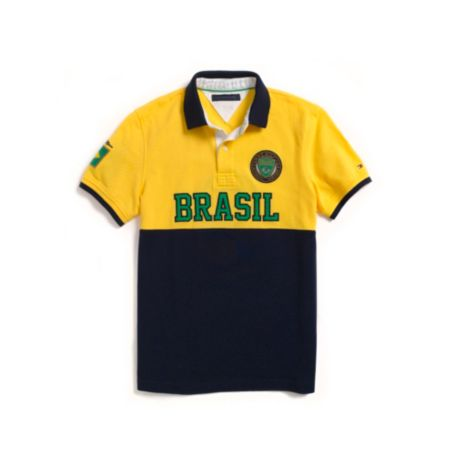 Image for CUSTOM FIT BRASIL POLO from Tommy Hilfiger USA