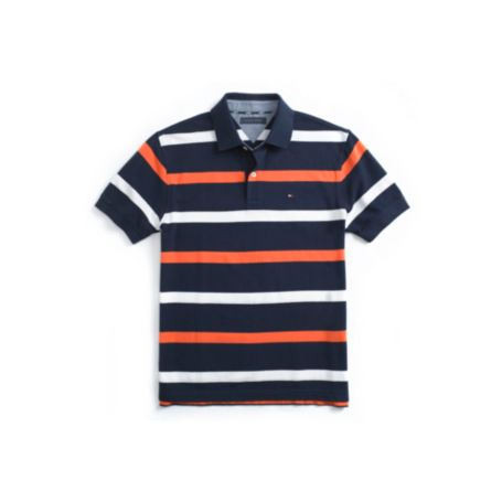 Image for REGULAR FIT PIQUE MULTI STRIPE POLO from Tommy Hilfiger USA