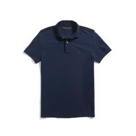 Image for NEW YORK FIT GARMENT DYE POLO from Tommy Hilfiger USA