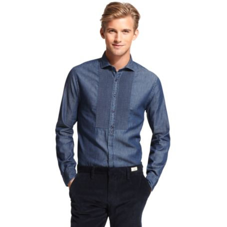 Image for SLIM FIT FRONT PLACKET SHIRT from Tommy Hilfiger USA