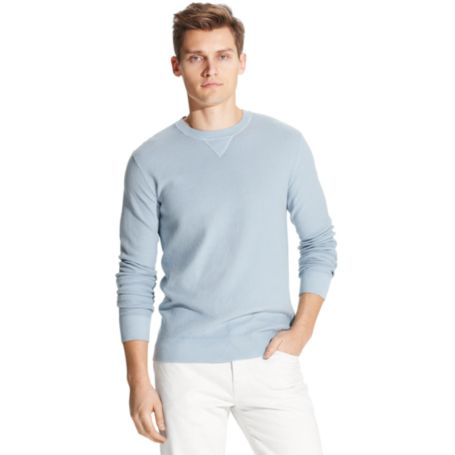 Image for CREW NECK GARMENT DYE SWEATER from Tommy Hilfiger USA