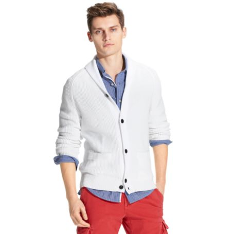 Image for SHAWL CARDIGAN from Tommy Hilfiger USA