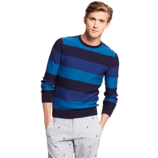 v Neck or Crew Neck Sweater With Dress Shirt Crew Neck Stripe Sweater