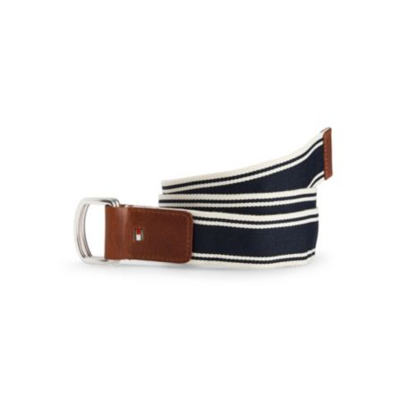 Image for SOLID STRIPE CASUAL BELT from Tommy Hilfiger USA
