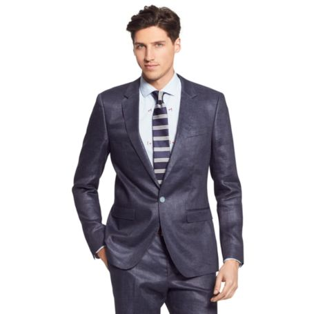 Image for POLISHED LINEN BLAZER from Tommy Hilfiger USA