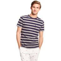 STRIPE POCKET TEE $29.99