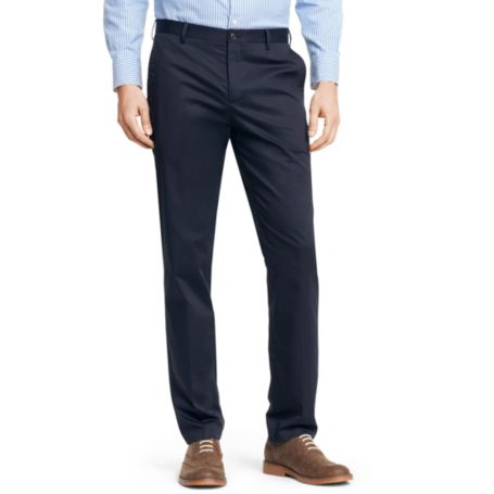 Image for SLIM FIT COTTON SATEEN PANT from Tommy Hilfiger USA