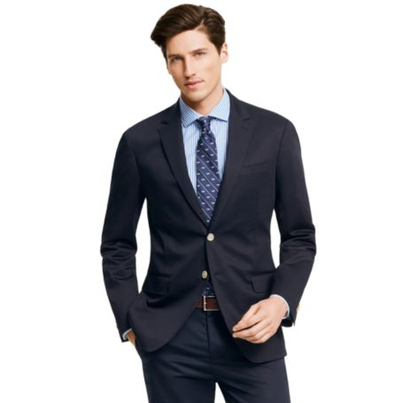 Image for COTTON SATEEN BLAZER from Tommy Hilfiger USA