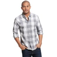 CUSTOM FIT GINGHAM PRINT SHIRT $39.99