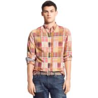 NEW YORK FIT PATCHWORK SHIRT $109.00