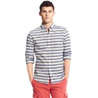 NEW YORK FIT STRIPE SHIRT $89.00